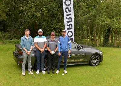 2nd Pro Am Team.. Liam Walsh,David Barry, Douglas Golf Club (PRO), Thomas Walsh ,Gareth Saunders,